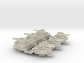 Pulson-A Combat Transport 1-403 Gun Module in Transparent Acrylic