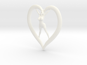 Joyful In Heart Single Replacement Earring in White Processed Versatile Plastic