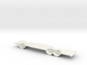 HRCHASSIS in White Natural Versatile Plastic