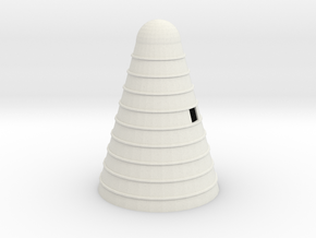 Woodchip Burner - Zscale in White Natural Versatile Plastic