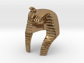 Pharaoh Headdress in Natural Brass