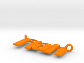 Flah in Orange Strong & Flexible Polished