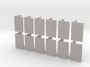 zz - Stand, Ramp, Multi 12, Gray in Full Color Sandstone