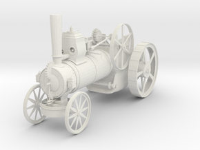 Steam Roller in White Natural Versatile Plastic
