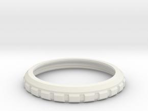 Nixiecase18top in White Natural Versatile Plastic