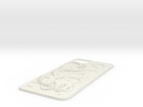 iPhone 5 Octopus Leverage in White Natural Versatile Plastic
