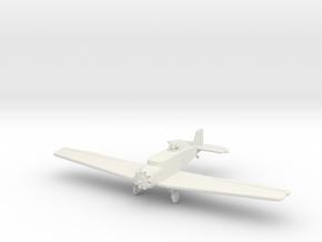 IW13 Junkers K43 Bomber (1/144) in White Natural Versatile Plastic