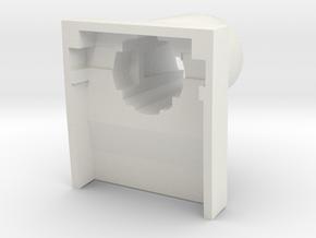 IBM Model F - Barrel v2 in White Natural Versatile Plastic