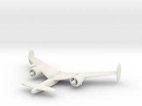 1/200 Miles Glider Tug in White Natural Versatile Plastic