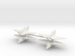 1/200 BICh-21 (x4) in White Natural Versatile Plastic
