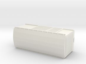 KP Wagon, New Zealand, (N Scale, 1:160) in White Natural Versatile Plastic