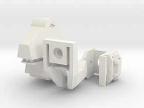 Tyrannobot Upgrade in White Natural Versatile Plastic