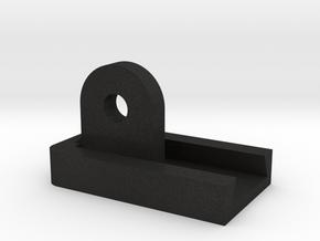 Controller desk mount Part 2 in Black Acrylic