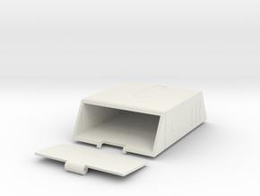 Batman Belt Pouch in White Natural Versatile Plastic