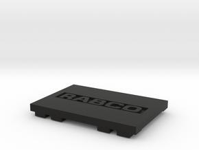 Rabco Cover V1.2 in Black Natural Versatile Plastic