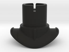 Quad Lock Short Stem Mount in Black Natural Versatile Plastic
