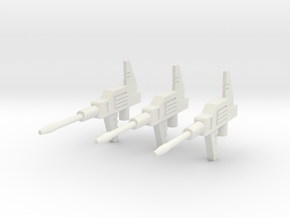 Sunlink - Datsun v4 Gun x3 in White Strong & Flexible