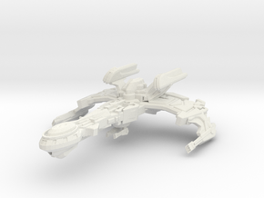 Vup'Quj Class Cruiser in White Strong & Flexible