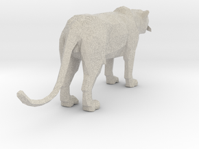 Leopard miniature in Natural Sandstone