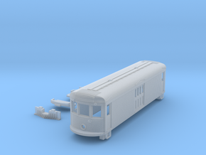 N Scale 45' Trolley Freight Box Motor Body + Parts in Smooth Fine Detail Plastic