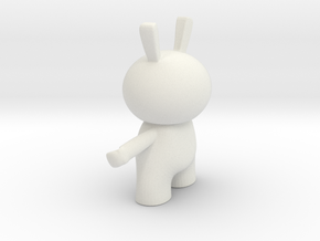 Brody 3D Print in White Natural Versatile Plastic