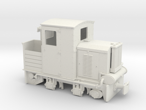 Feldbahn Holzvergaserlok SCHÖMA Spur 1f 1:32 in White Natural Versatile Plastic