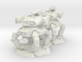 WHAM- Bandersnatch x2 (1/285th) in White Natural Versatile Plastic