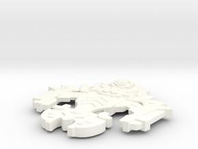 Scarab Class Dominion Fighter in White Processed Versatile Plastic
