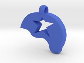 Jammer Helmet in Blue Processed Versatile Plastic
