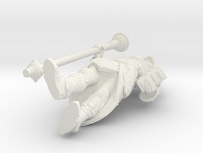 Sorceress in White Natural Versatile Plastic
