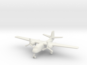 1/285 (6mm) S-2 Trader  in White Natural Versatile Plastic