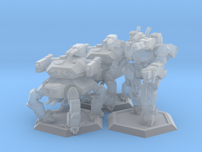 WHAM- Fusion Era Battle Pack A (1/285th) in Smooth Fine Detail Plastic