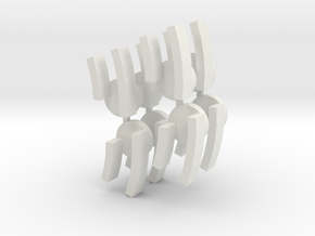 O Hinge1 in White Natural Versatile Plastic