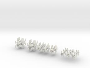 Free Republic Fleet in White Natural Versatile Plastic