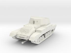 Vehicle- Valentine Tank Archer (1/72) in White Strong & Flexible
