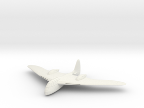 1/200 Messerschmitt Me 265 in White Natural Versatile Plastic