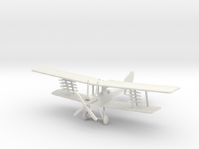 "RAF B.E.12a ""Home Defence"" 1:144th Scale in White Natural Versatile Plastic"