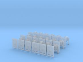 Pandora Gun Package in Smooth Fine Detail Plastic