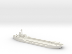 LCT-4 1/700 Scale in White Natural Versatile Plastic