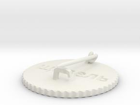 by kelecrea, engraved: ?????? in White Natural Versatile Plastic