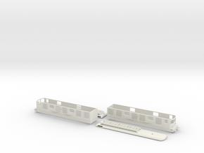 BLS Ae 8/8 271 - TT scale in White Natural Versatile Plastic