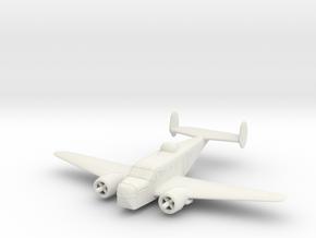 1/200 Beechcraft AT-11 (SNB-1) 'Kansan' in White Natural Versatile Plastic