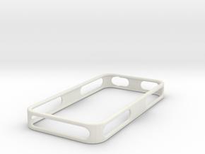 iPhone 4/4S Bumper v1.2 in White Natural Versatile Plastic