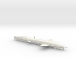 Silverbird Rocket Plane in White Natural Versatile Plastic