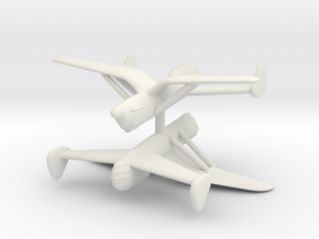 1/300 Arsenal Delanne 10 (x2) in White Natural Versatile Plastic