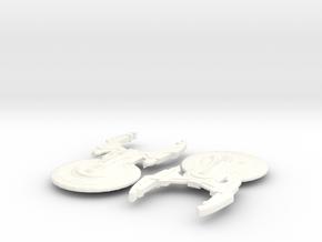 USS Omaha in White Processed Versatile Plastic