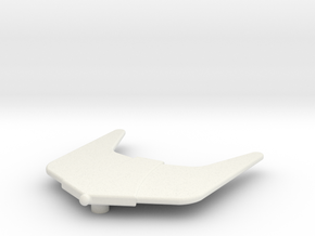 Rodimus Prime Yellow Wing in White Natural Versatile Plastic