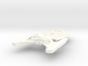 USS Okuda in White Processed Versatile Plastic