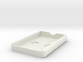 Wallet3 in White Natural Versatile Plastic