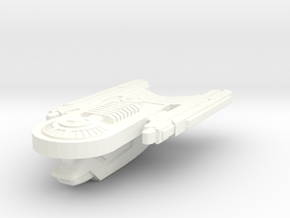 USS Simiel in White Processed Versatile Plastic